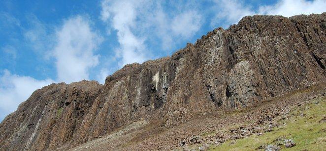 Preshal More, Skye: Palaeogene tholeiitic basalt of Talisker Formation