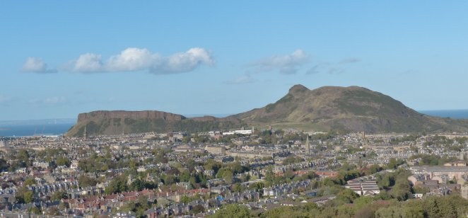 Arthur's Seat & Salisbury Crags: Carboniferous volcano & sill, Edinburgh