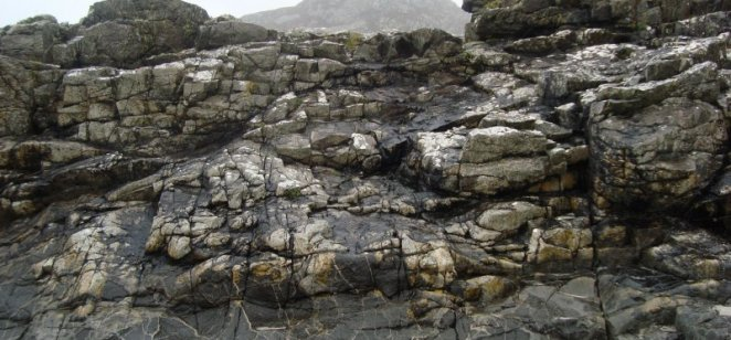 Magma mingling, Ardnamurchan (Palaeogene)