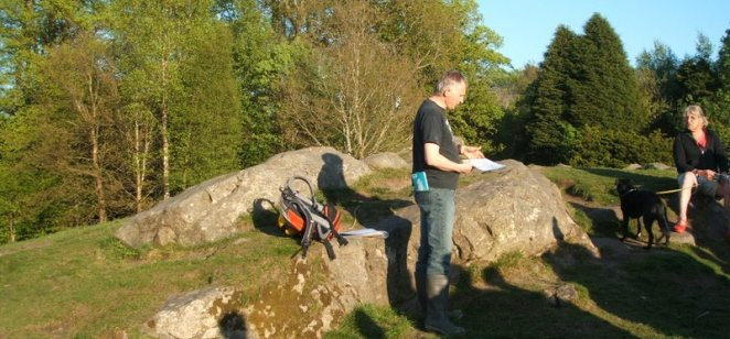 Picnic Rock at Rouken Glen (2)