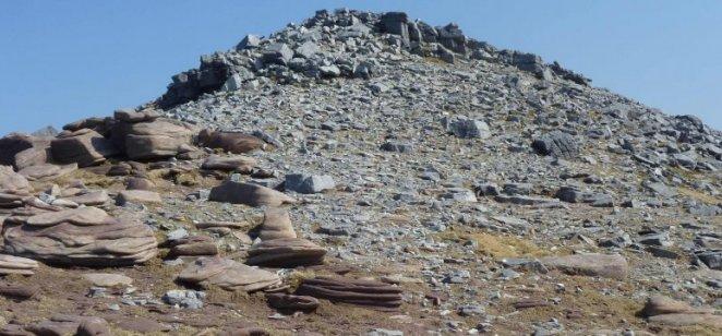 Torridonian-Cambrian unconformity, Cul Mor