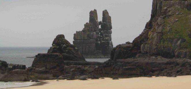 Torridon sandstone, Kervaig, Cape Wrath