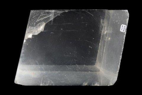 Calcite has three cleavage planes.