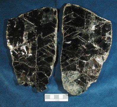 Foliated habit (biotite)