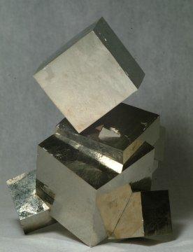 Cubic habit (pyrite)